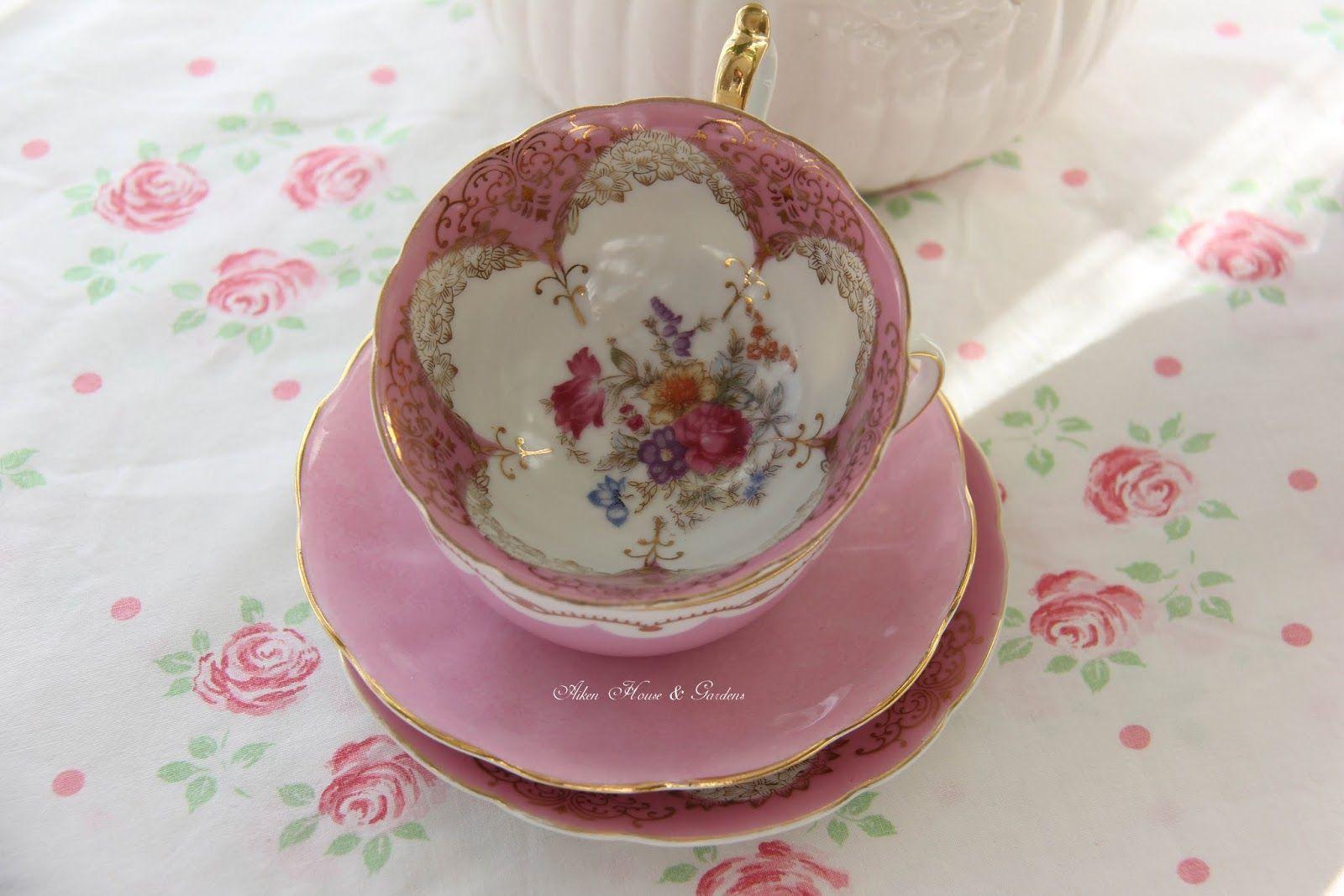 Aiken House & Gardens: A Pink Tea Time