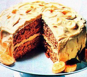 Banana chocolate rum cake recipe