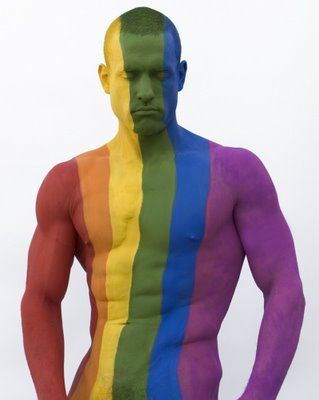 Gay Pride Body Art Ideas