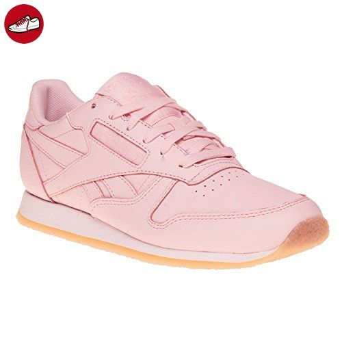 Reebok Schuhe Pink Classic Leather Crepe Sneaker Damen 7g6YfvIby