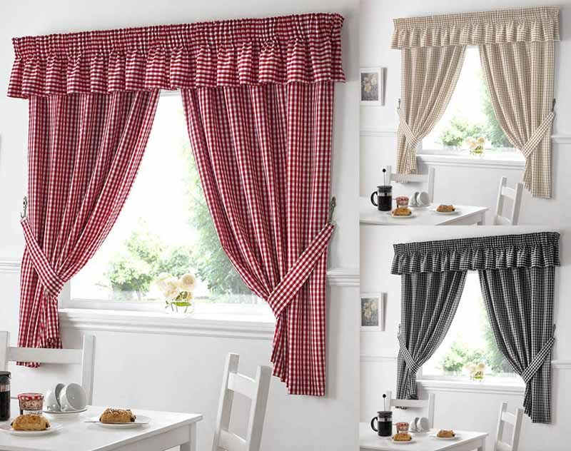 Country Style Kitchen Curtains Awesome Decorating