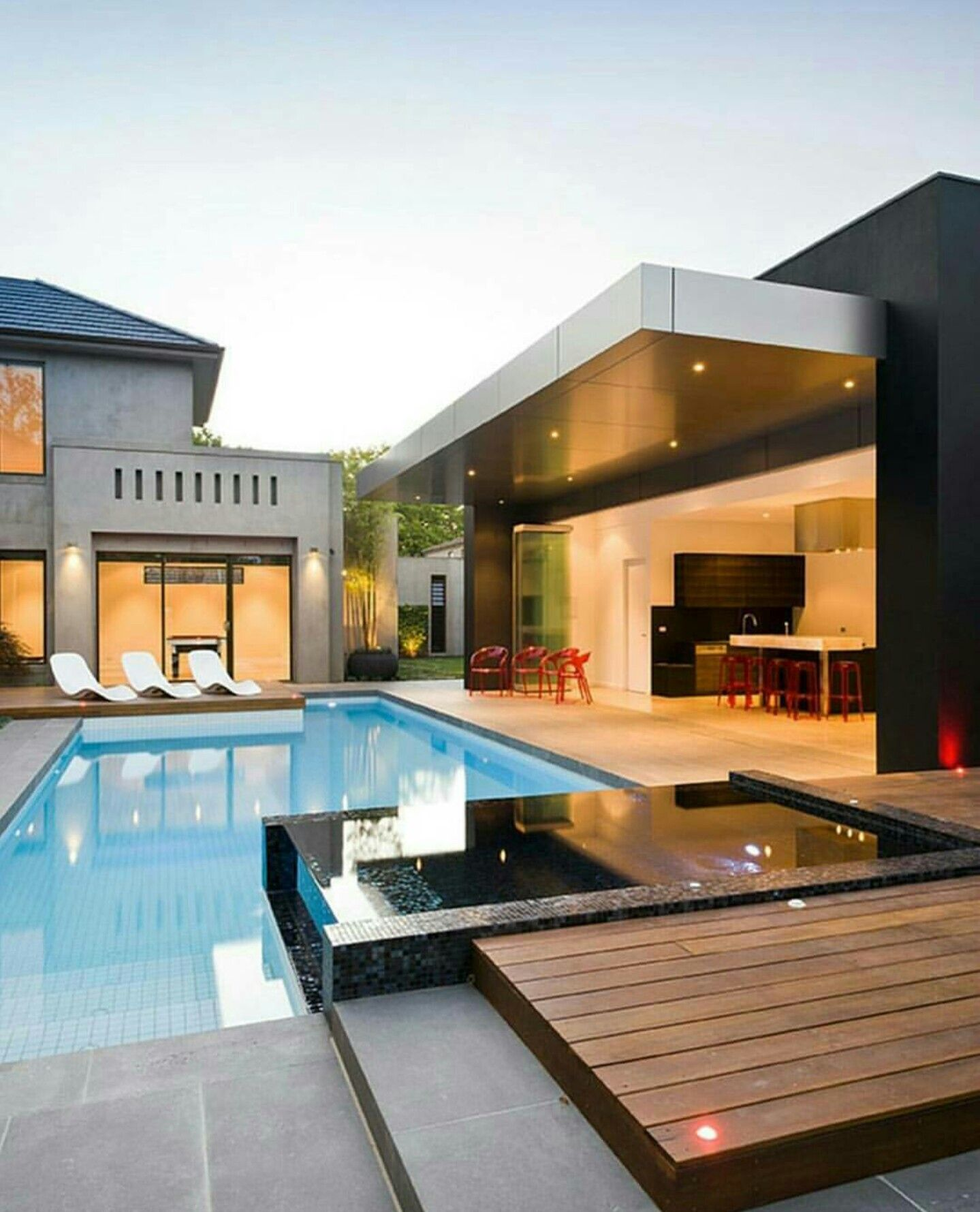 Luxury Home Indoor Pools Residential: ~Dream House~