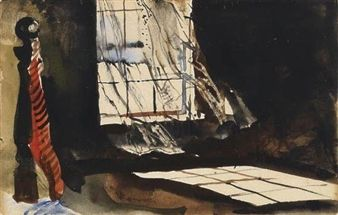 The Open Window By Andrew Wyeth