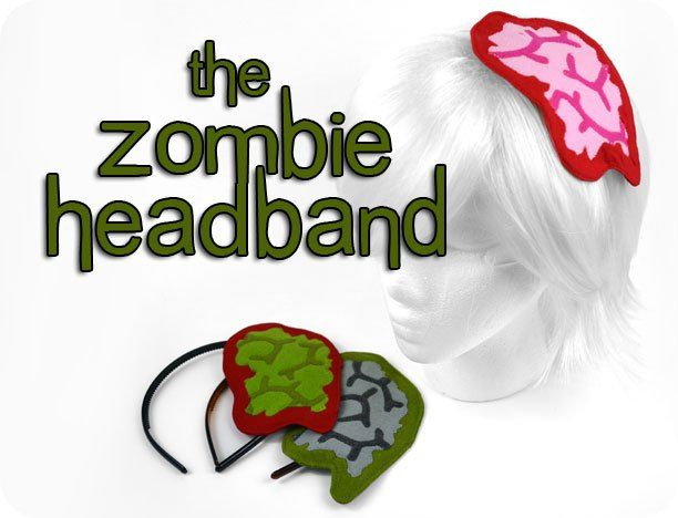 Free tutorial Make a super-quick Zombie Headband for a last-minute