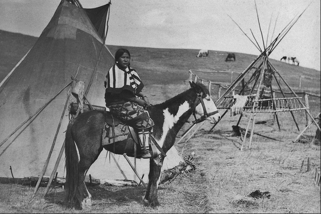 Kitsipimi Otunna in Alberta - Sarcee - before 1905