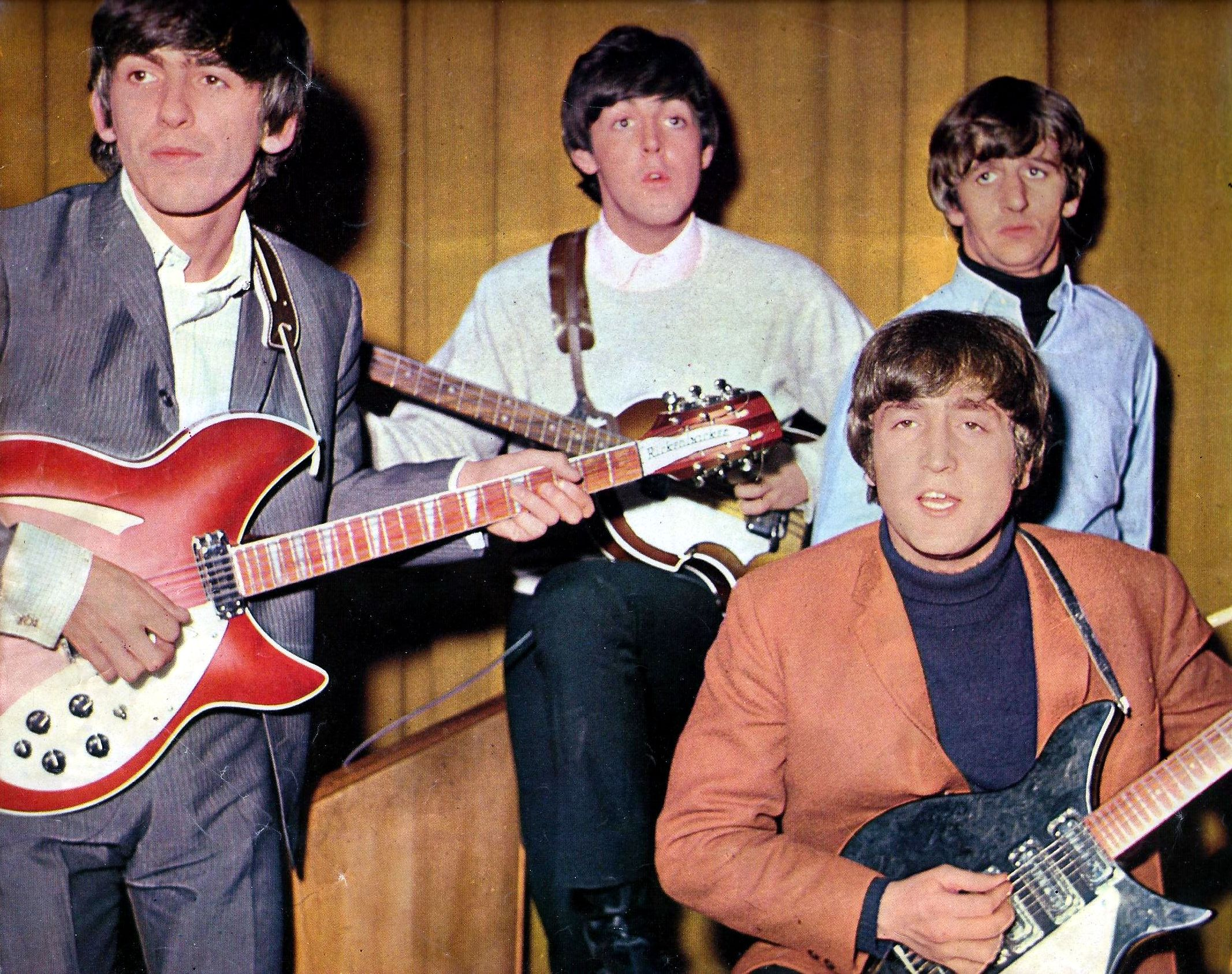 Beatles 1966 Color Pictures