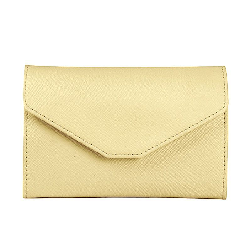 New Multifunctional Temperament Fashion Passport Bag Women's Thin Soft Travel Documents Purse HB88