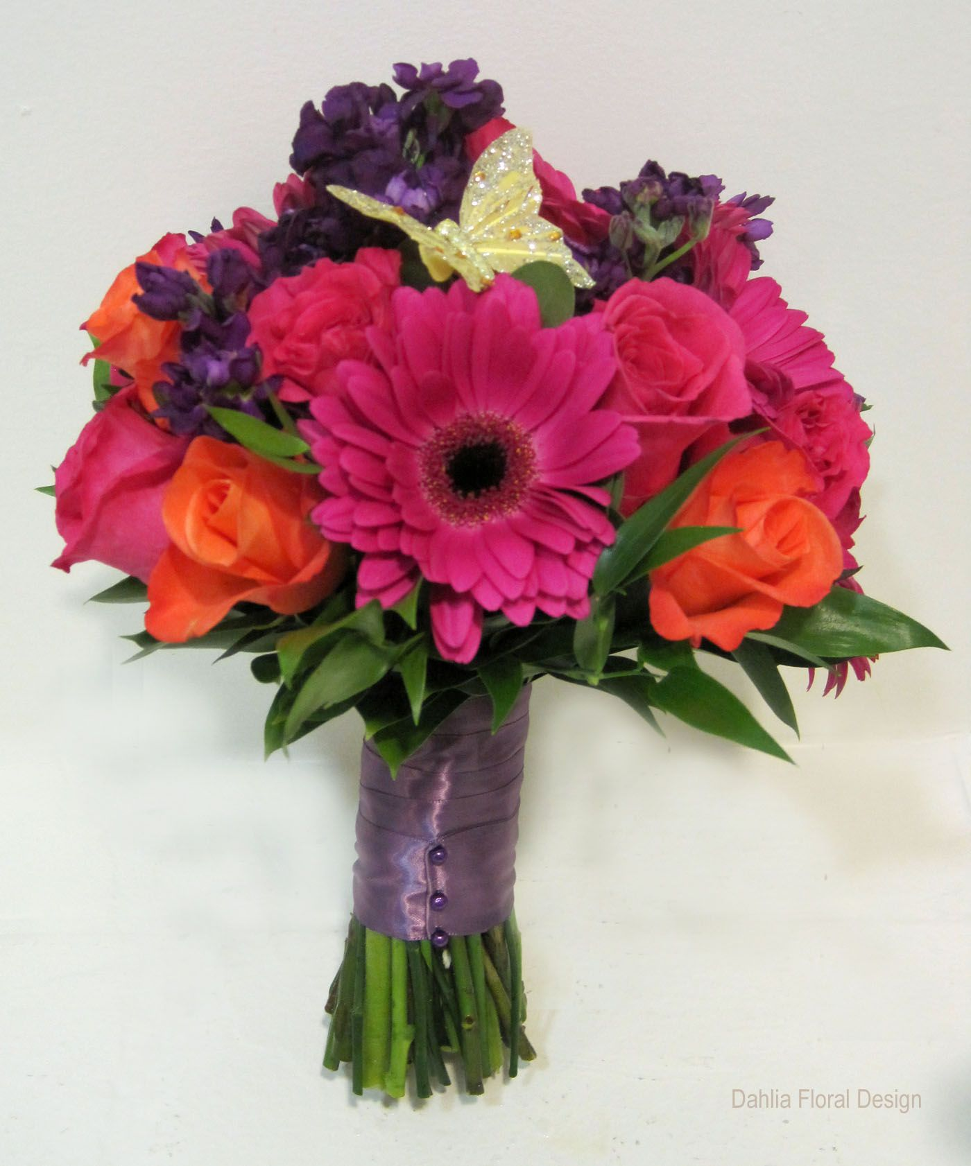 Purple And Pink Wedding Flowers: Wedding+flowers+purple+orange+pink+yellow