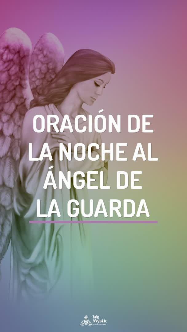 Oración de la noche al Ángel de la Guarda