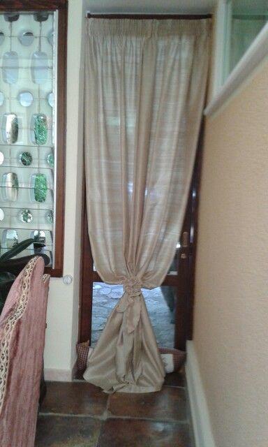 Tenda in shantung di pura seta