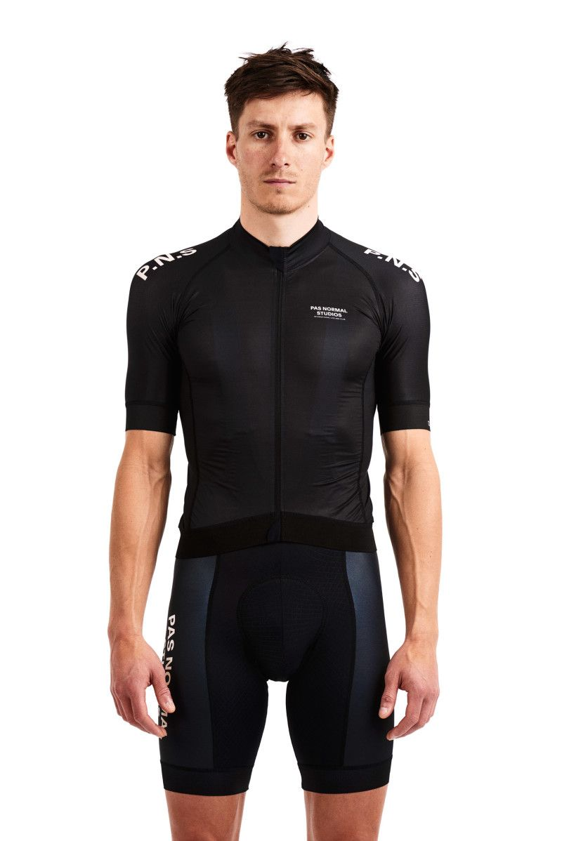 Mechanism race jersey, Black Cycling outfit, Sport