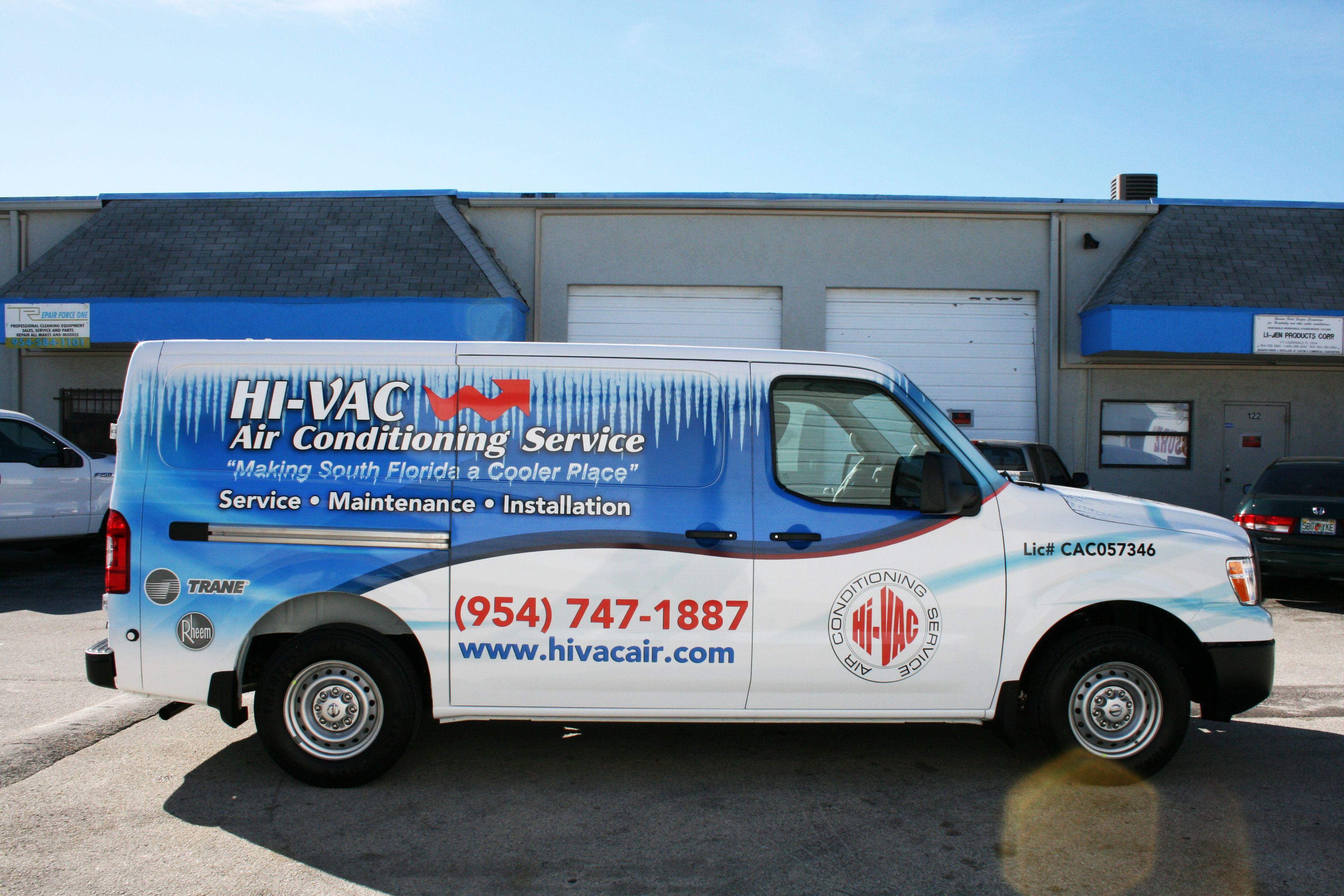Nissan Nv1500 Cargo Van 3m Vinyl Vehicle Wrap Fort Lauderdale