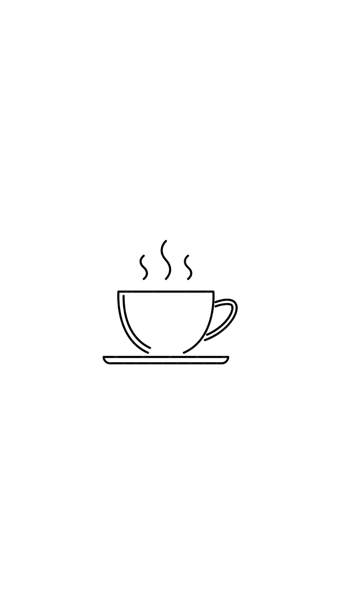 Coffee Coffee Art Drawing Coffee Icon Easy Drawings