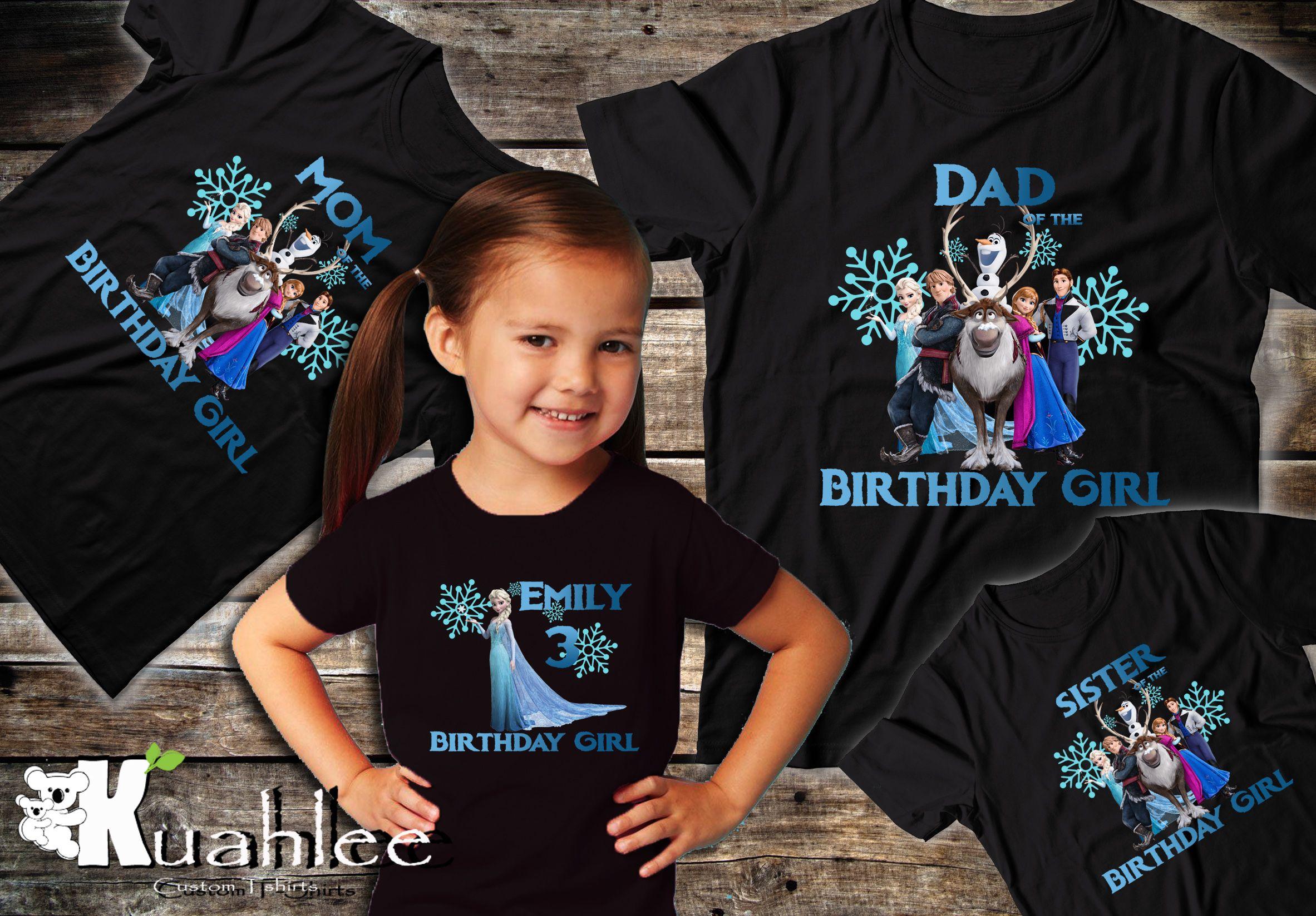 Birthday Boy Girl T-shirt 1st 2ND 3RD 4TH 5TH Any Colour Text