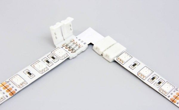The L Corner Connector With Led Strip Light Led Strip Lighting Strip Lighting Led Strip