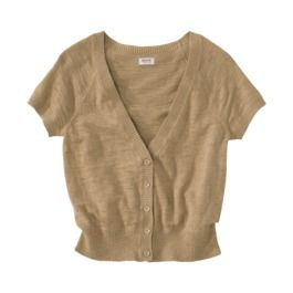 Mossimo Supply Co. Juniors Short Sleeve Cardigan - Assorted Colors ... c03cf4d4f