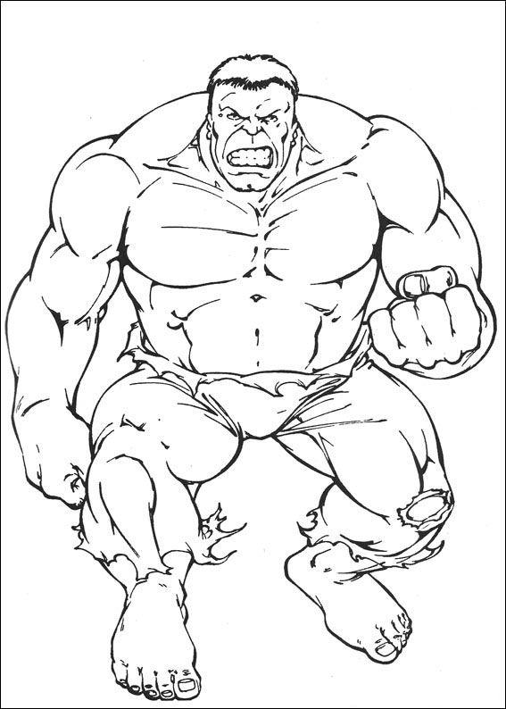 99 Disegni Di Hulk Da Colorare Hulk Coloring Pages Avengers