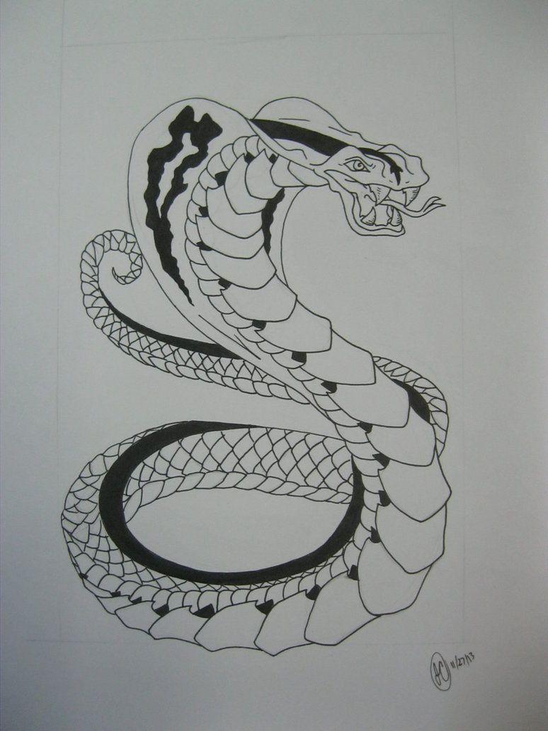 King Cobra Snake Tattoo Design By Regigirl1218 On Deviantart