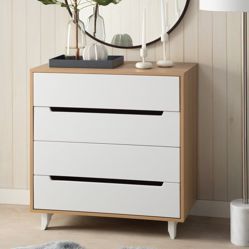 Best This 4 Drawer Chest Is Offered In A Rich Natural Maple 640 x 480