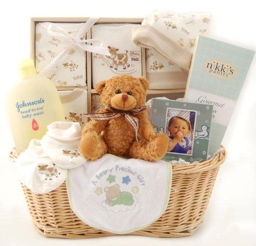 Your Wholesale Dropship Source   New Arrival Baby Gift Basket  Neutral