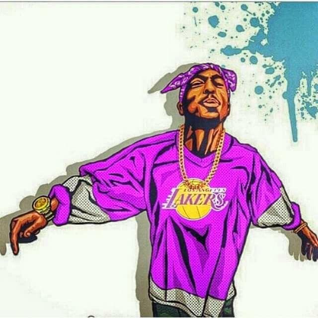 Rapper Art, Tupac Art, Hip Hop Art