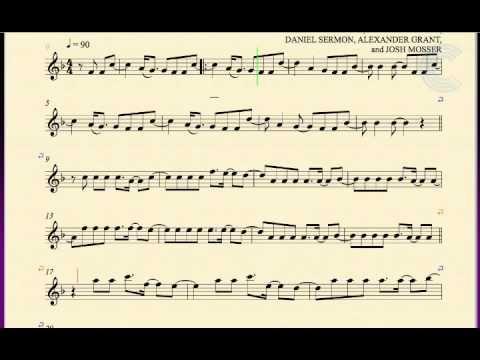 Tenor Saxophone Demons Imagine Dragons Sheet Music Chords And