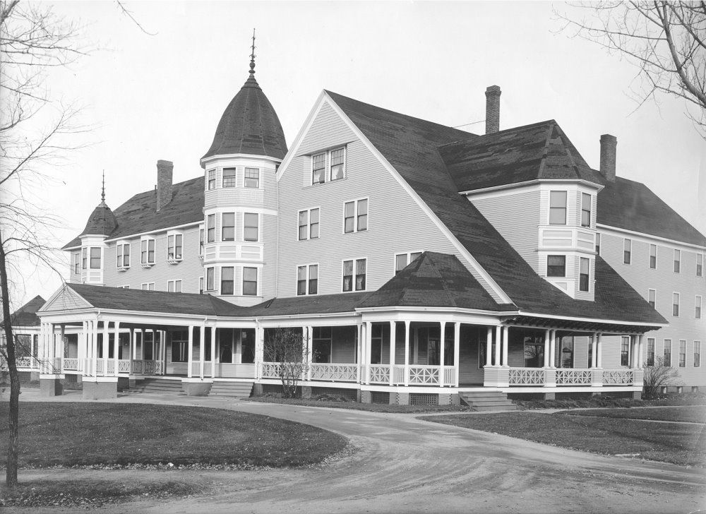 The Great Northern Hotel Millinocket Maine 1931