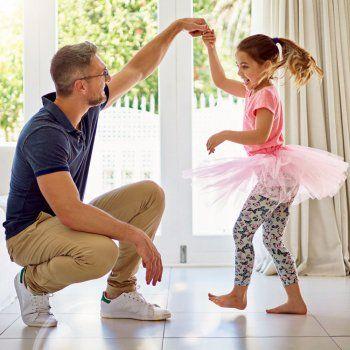 Los niños que bailan, son más felices.