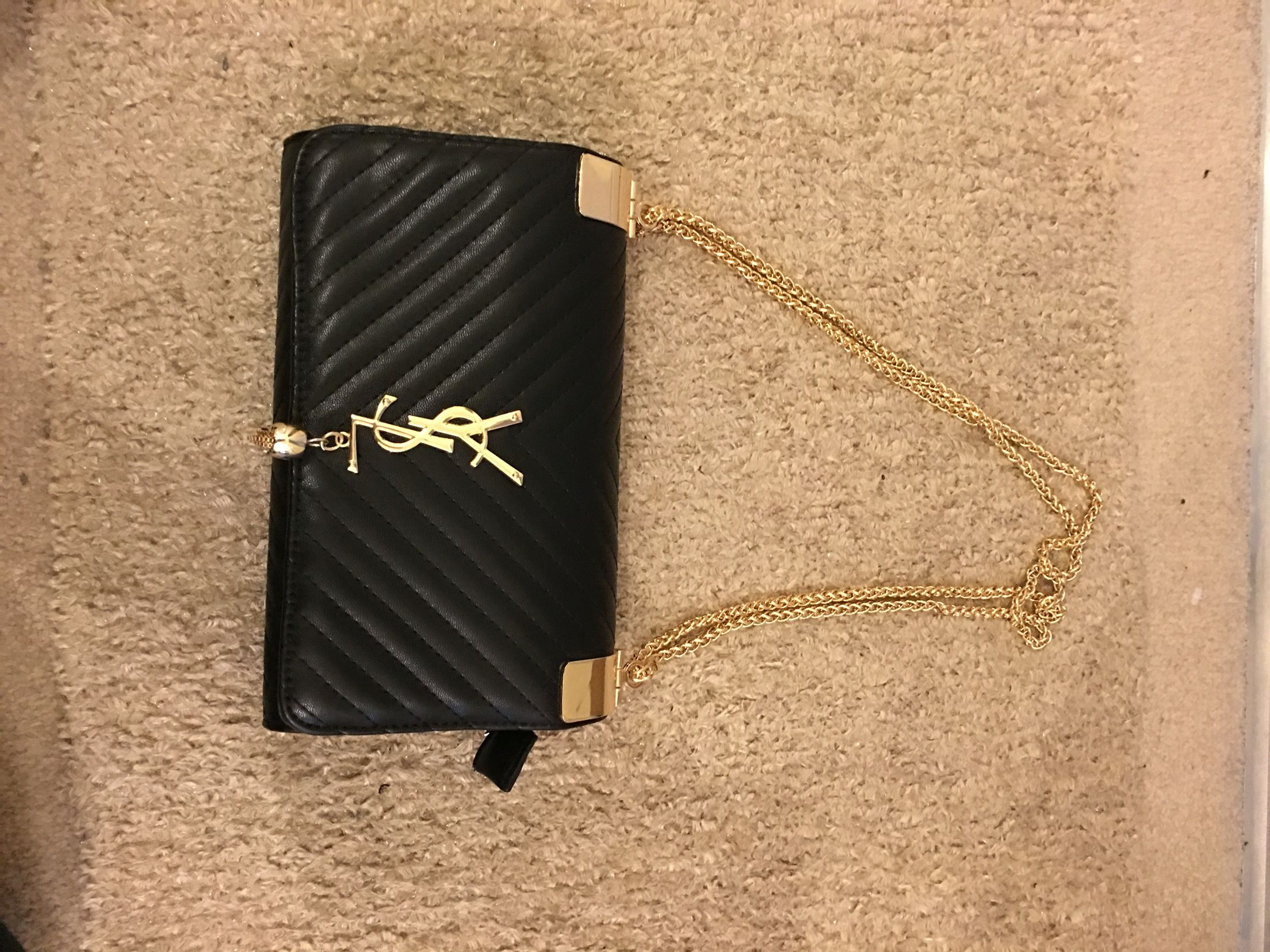 Black Ysl Side Bag For Bags Luxury Branding