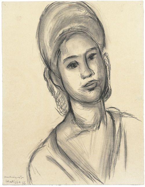 Henri Matisse  Martiniquaise