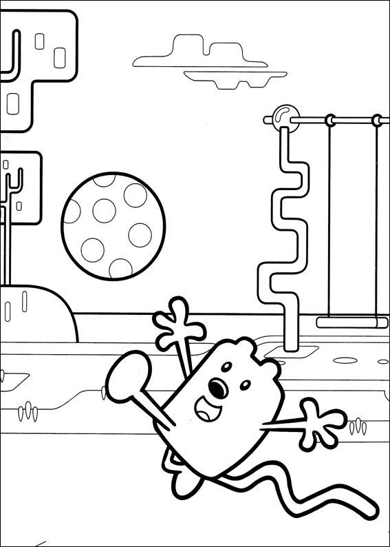 Wow Wubbzy Coloring Pages 2