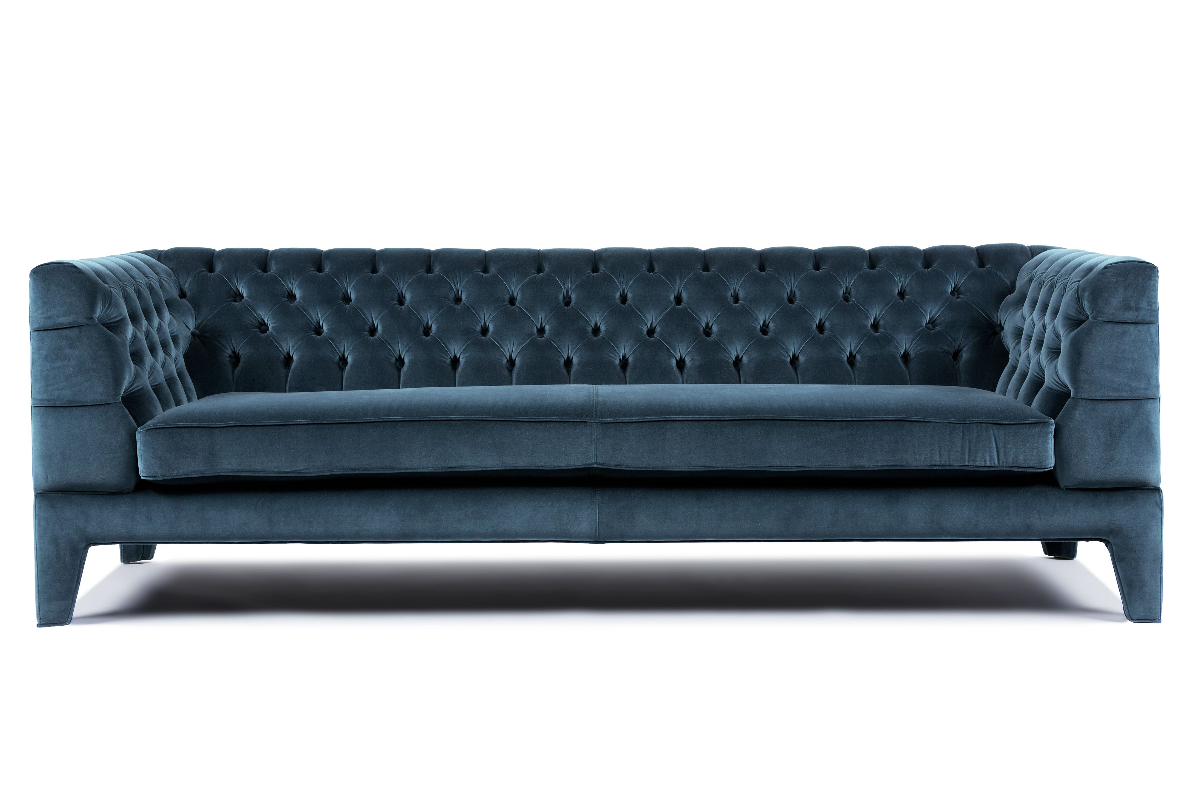 Velvet Sofas Melbourne England Sleeper Sofa With Full Size Mattress Claude By Arthur G Deep Buttoning Http