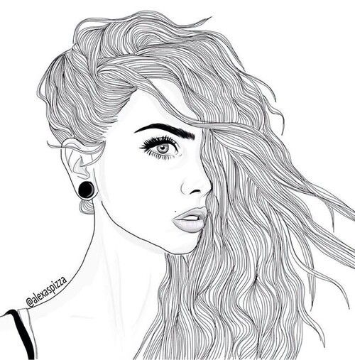 Line Art Instagram : Outlines draw drawing blackandwhite girly