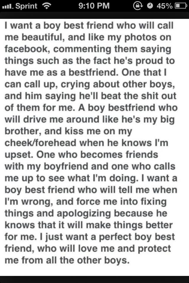 I want a guy best friend quotes tumblr