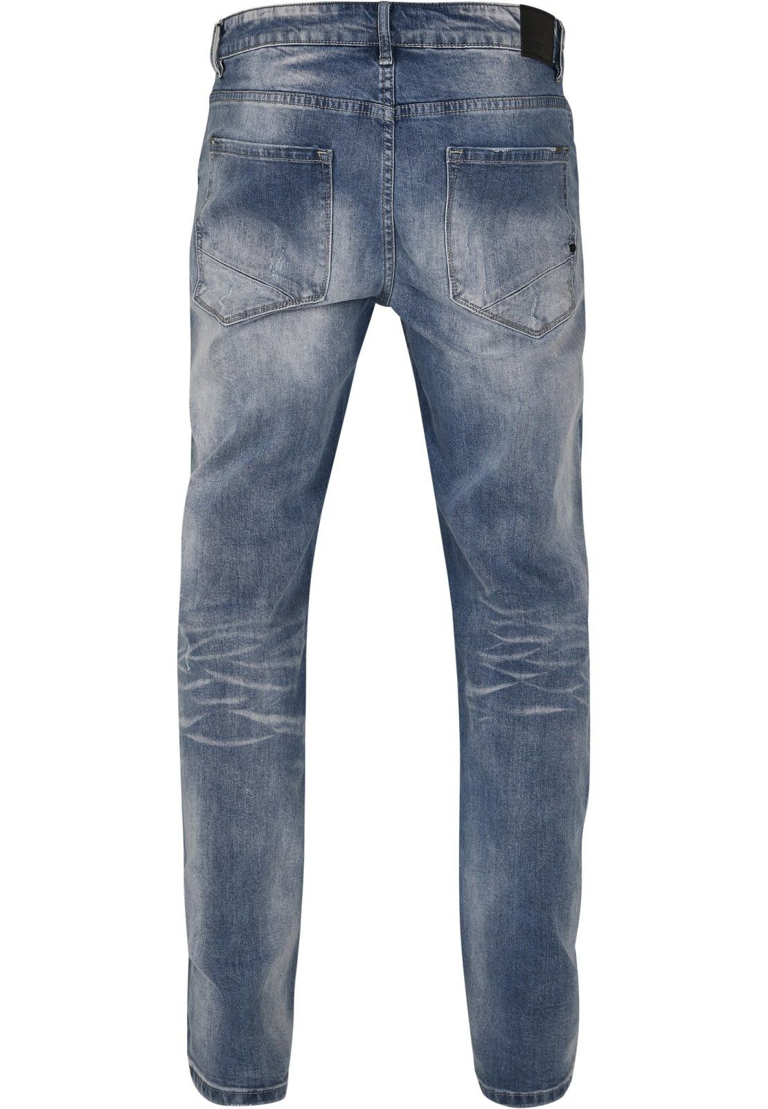 Will Washed Denim Jeans - 38/34 / Blue Washed