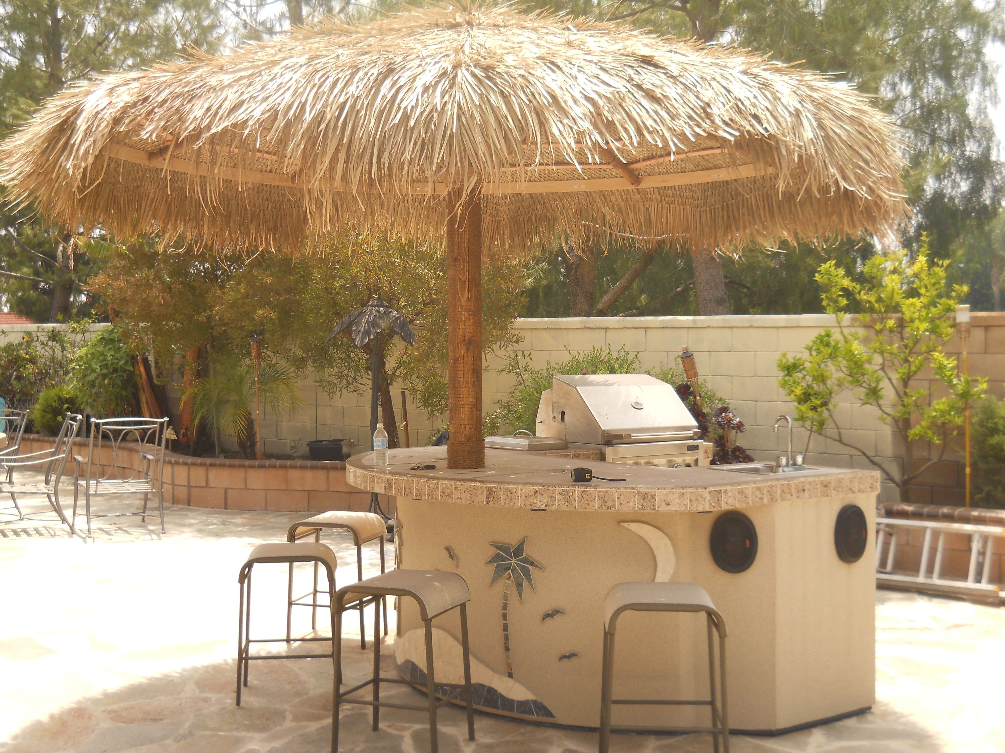 9 best BBQ Island with Palapa images on Pinterest