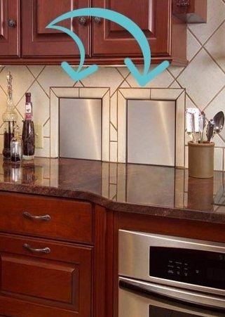Installiere Abfallschächte in deiner Küche Ideen rund ums Haus - cleveres kuchen design