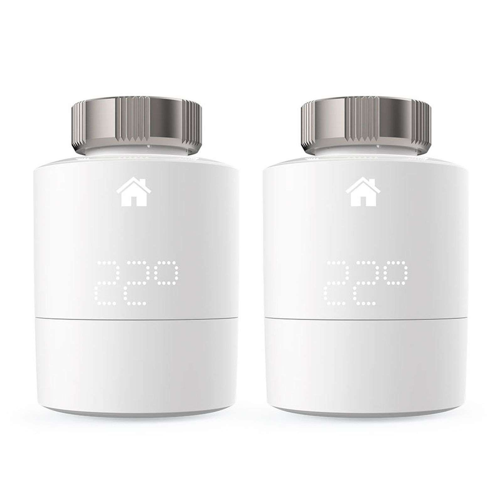 Tado Pack Duo Thermostat Chauffage Intellig Srt 2 Thermostatique Castorama Et Tete De