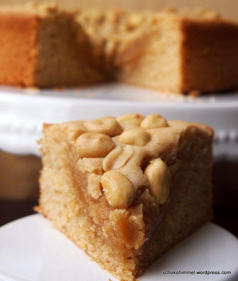 Süß & salzig: fudgy Erdnussbutter-Brownies #bananapie