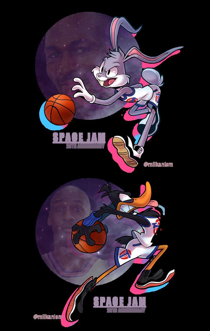 Space Jam 20th By Miikanism Deviantart Com On Deviantart Space Jam Theme Looney Tunes Wallpaper Looney Tunes Space Jam