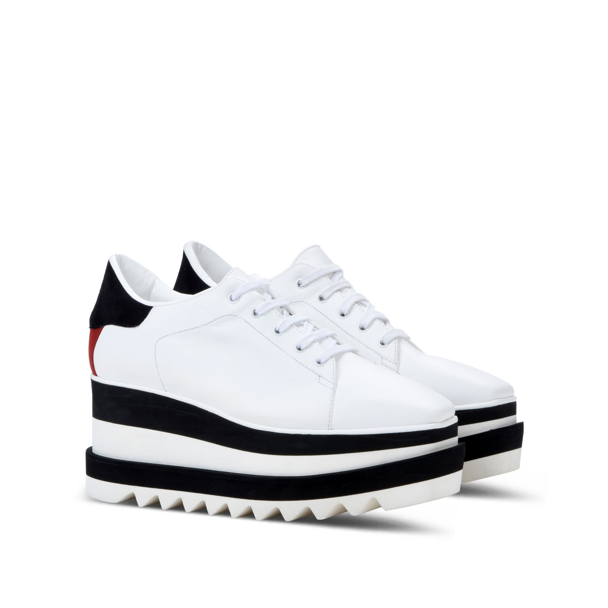 b6d19bbe938 Discover ideas about Stella Mccartney Trainers. Shop the Black And White Sneak  Elyse ...