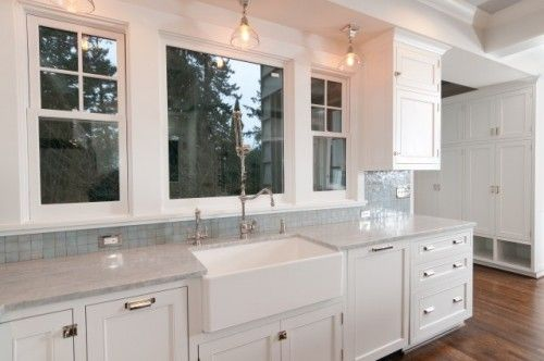 Franke Fireclay Apron Front Sink Used By Jennifer Baines Interiors