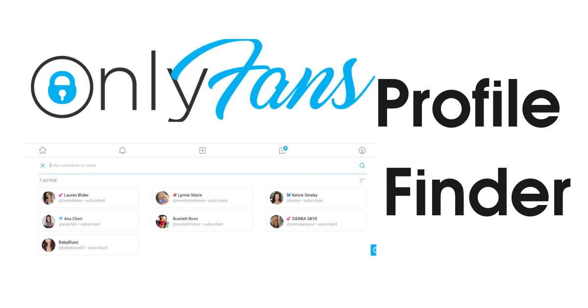 How can you Find OnlyFans Profile in your Area? OnlyFans