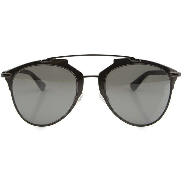 d5134be10c76 DIOR Reflected Sunglasses ($295) ❤ liked on Polyvore featuring accessories,  eyewear, sunglasses, summer glasses, christian dior glasses, christian dior,  ...