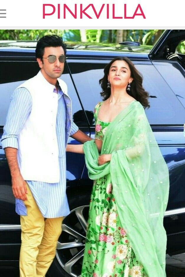 #AliaBhatt & #RanbirKapoor at #Kumb2019 for #Brahmastra ...