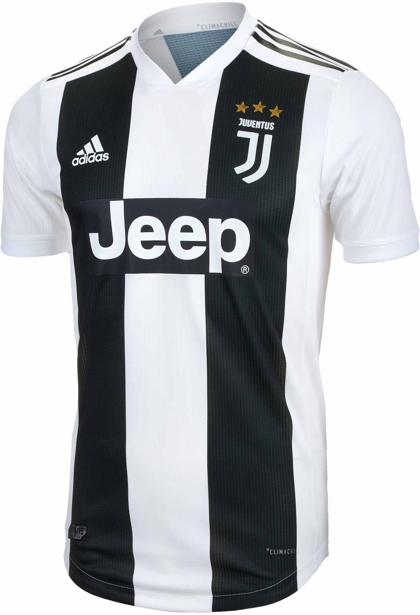 new product abb55 5ca7a adidas Juventus Home Authentic Jersey 2018-19 | Soccer ...