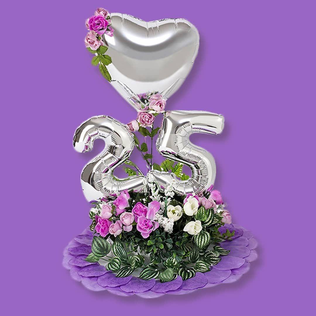 25 Anni Di Matrimonio Un Amore Da Celebrare Che Festa E Senza Palloncini Magicparty Nozze D Argento Palloncini Anniversario Di Matrimonio