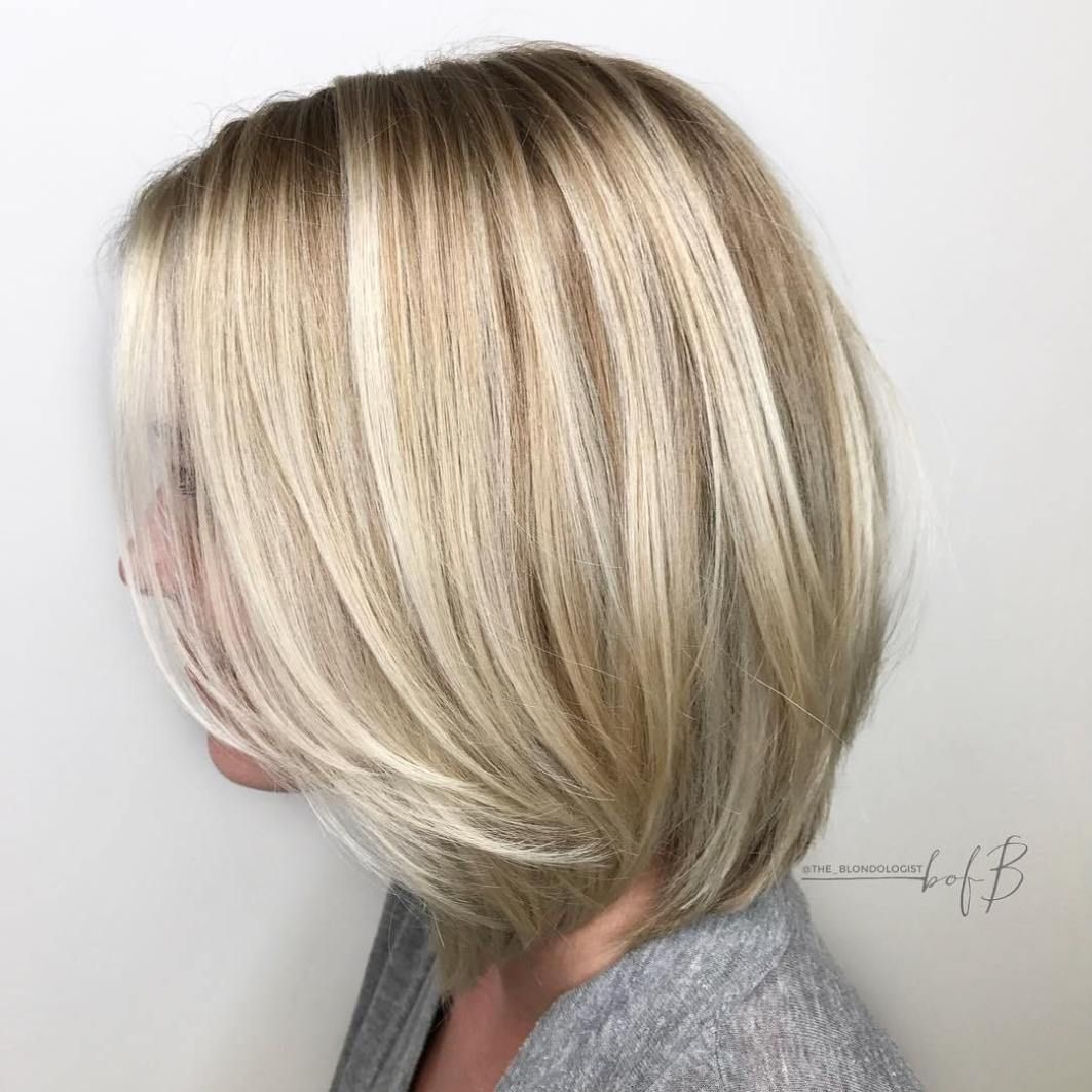 50 No Fail Medium Length Hairstyles For Thin Hair Hair Adviser Medium Bob Hairstyles Bob Haircut For Fine Hair Medium Length Hair Styles