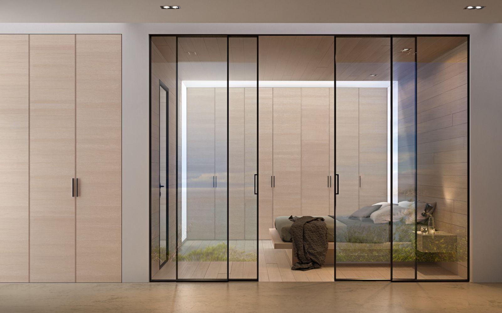 cloison coulissante sur mesure id es d coration id es d coration. Black Bedroom Furniture Sets. Home Design Ideas