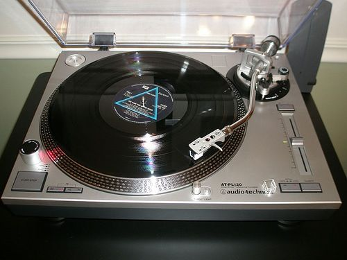 Audio Technica Lp 120 Vintage Electronics Turn Table Vinyl Audio